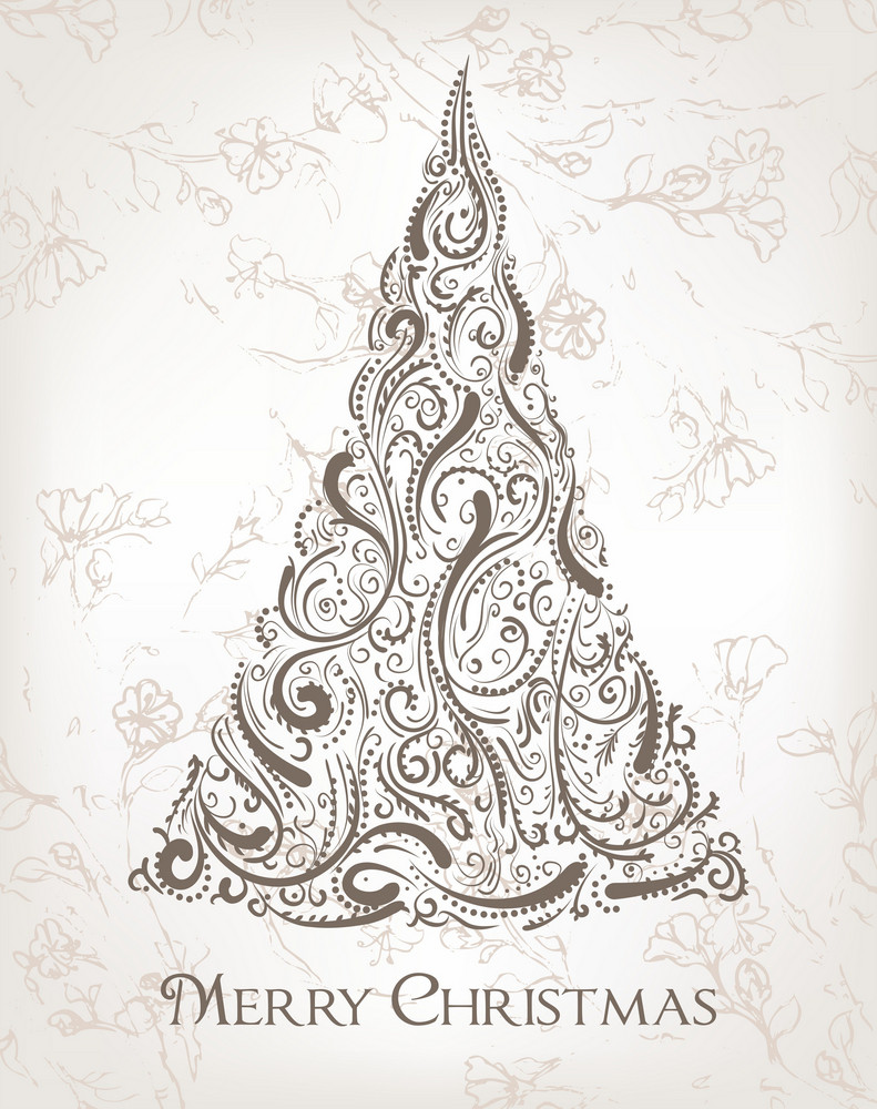 Christmas Background Vector Illustration