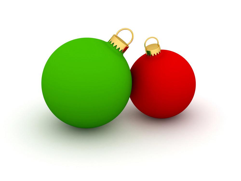Christmas Balls Illustration