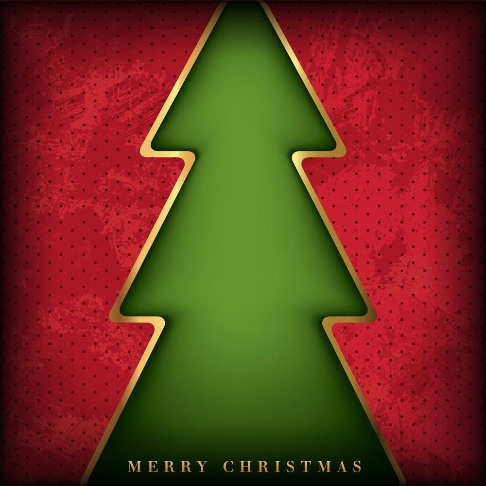 Christmas Card Background Design