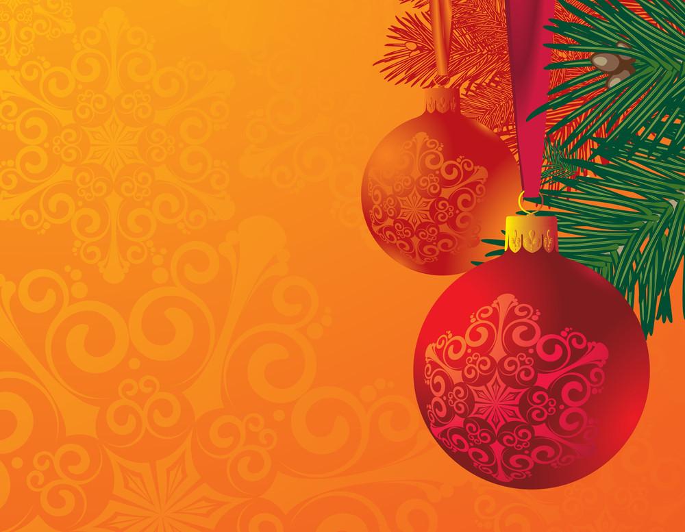 Christmas Card. Vector.