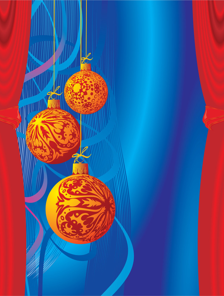 Christmas Decoration. Vector