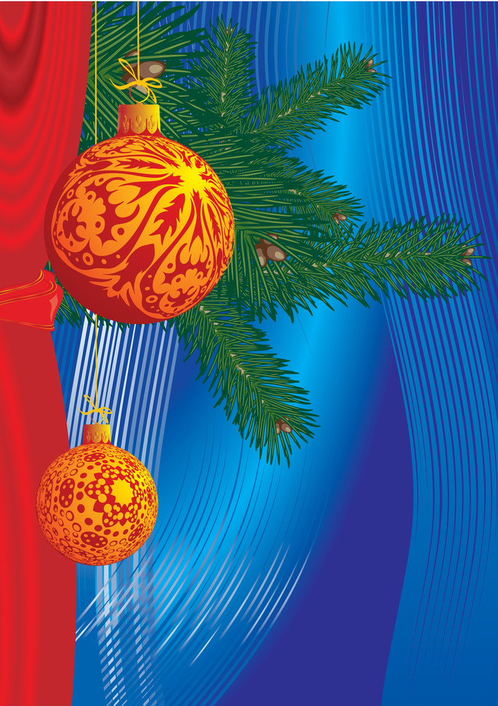 Christmas Decoration. Vector
