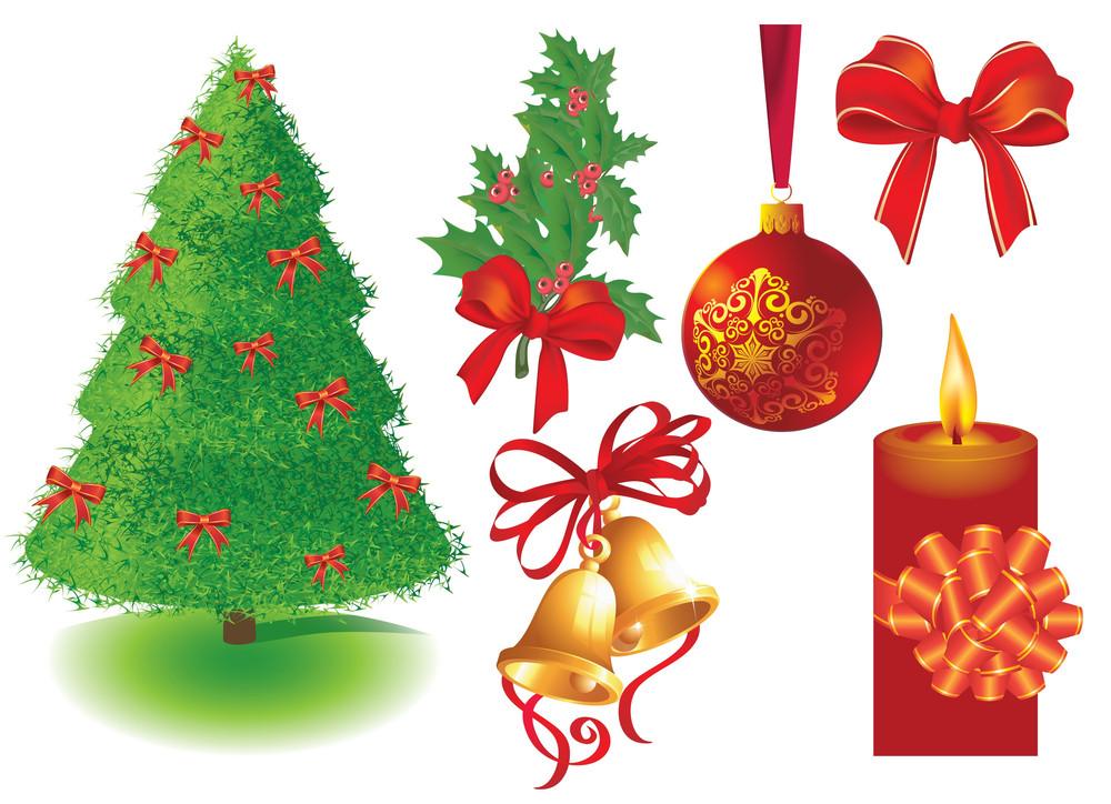Christmas Design Elements. Vector.