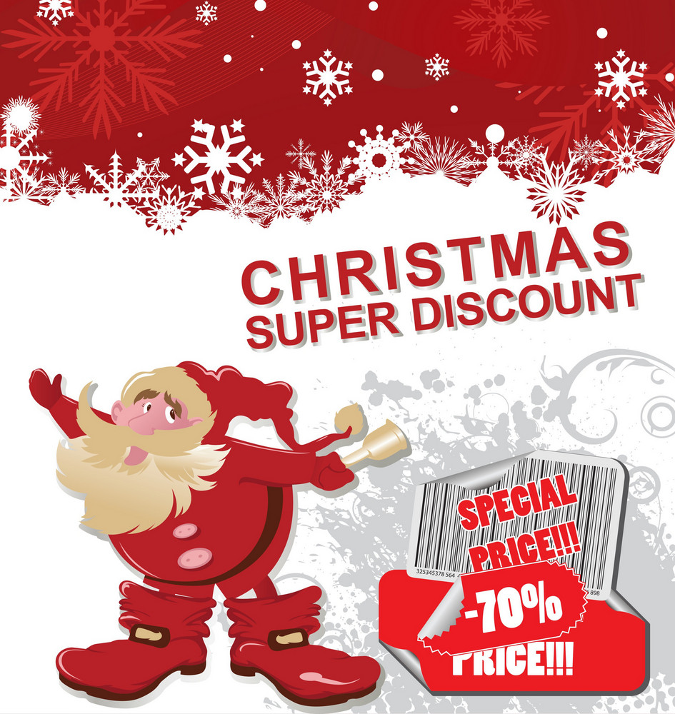 christmas discount banner royalty free stock image storyblocks
