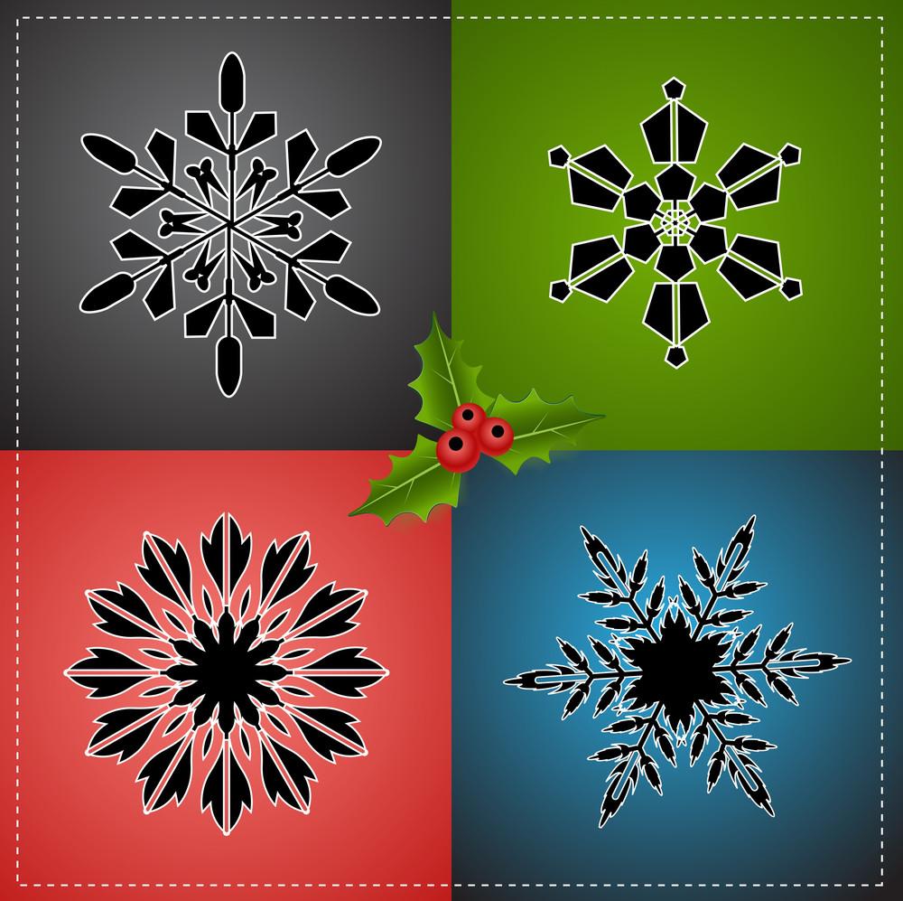 Christmas Elements Vectors
