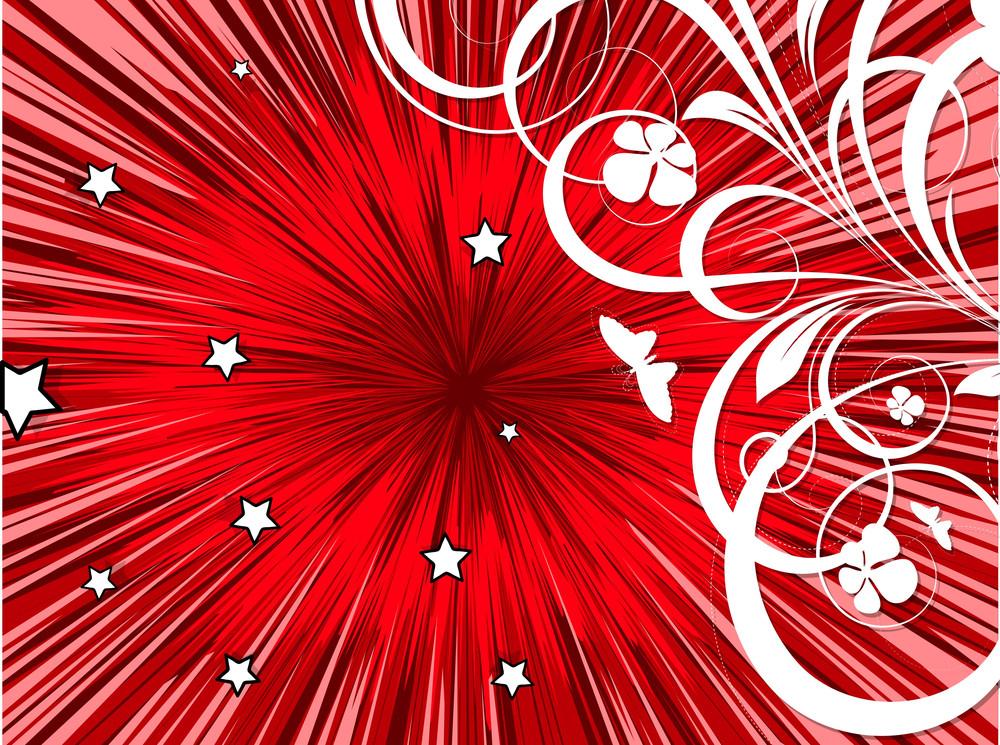 Christmas Flourish Background