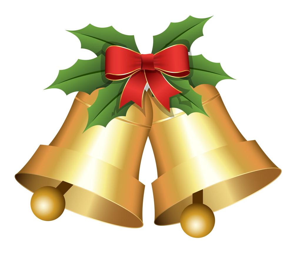 Christmas Holiday Bells Vector Illustration