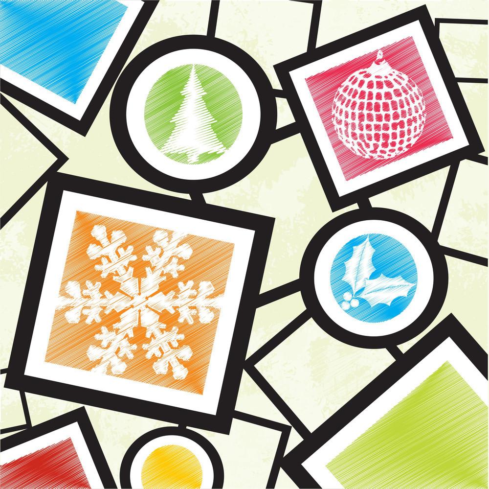 Christmas Icons Design