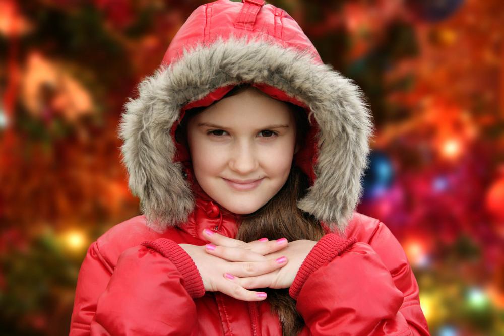 Christmas Little Girl