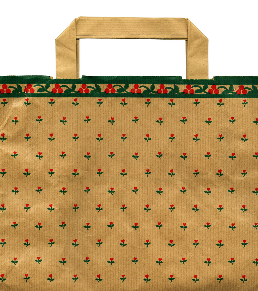Christmas Recycleable Paper Bag