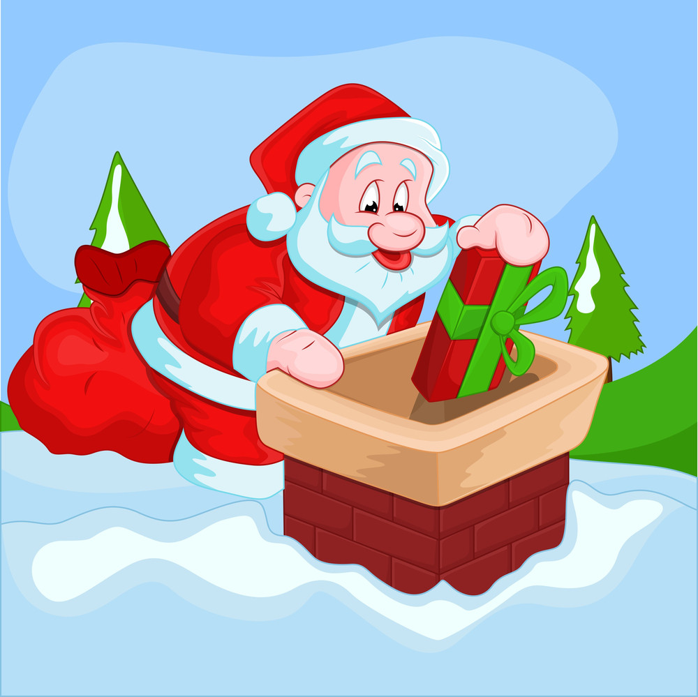 Christmas Santa Vector Illustration