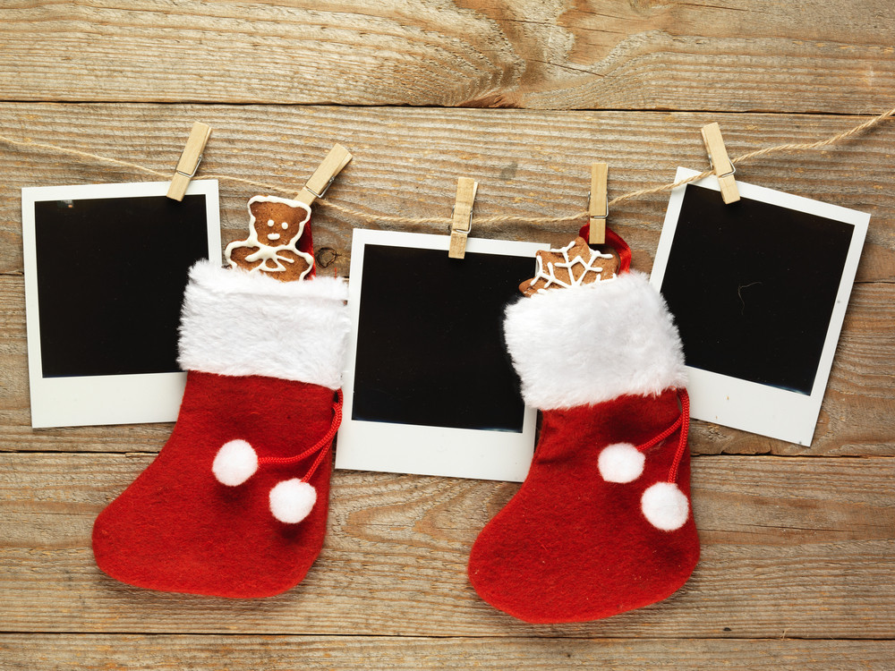 Christmas polaroids