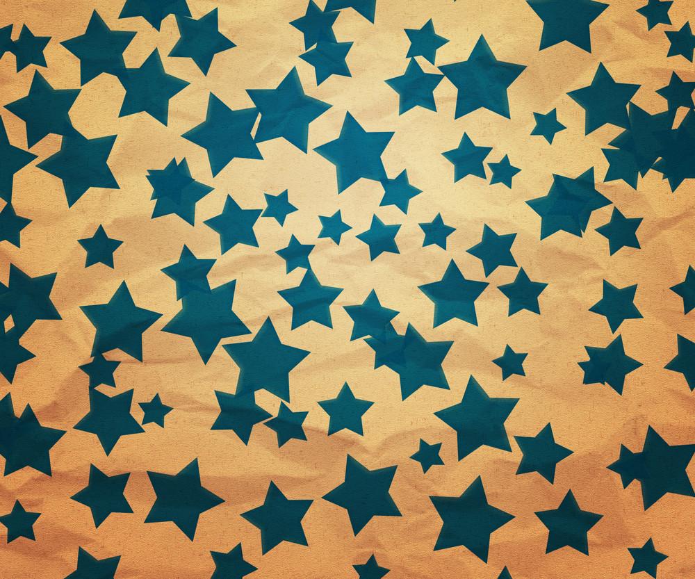 Christmas Stars Paper Texture