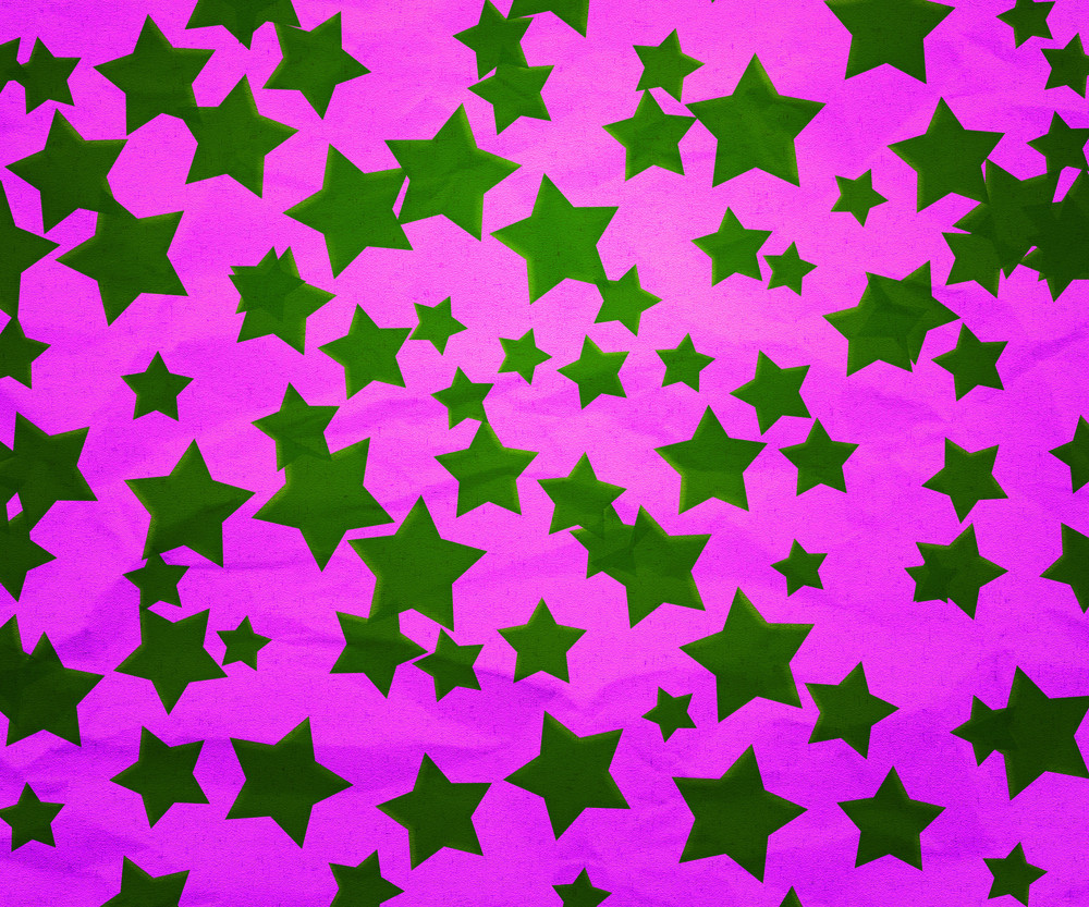Christmas Stars Paper Texture