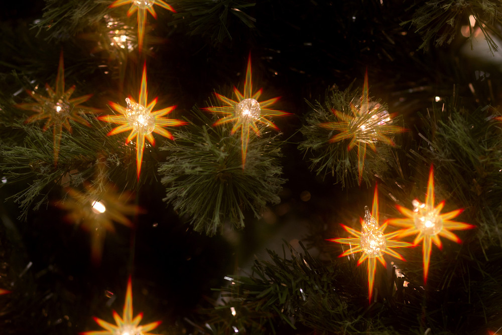 Christmas Stary Background