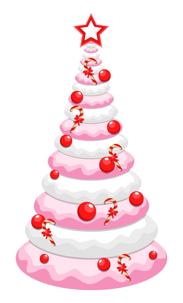 Christmas Tree Cake Design