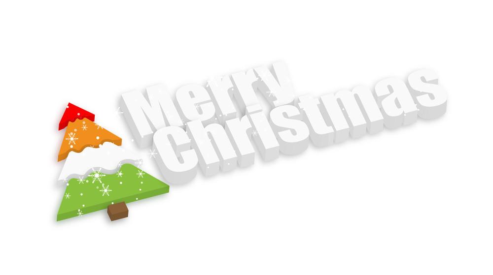 Christmas Tree Decorative Banner