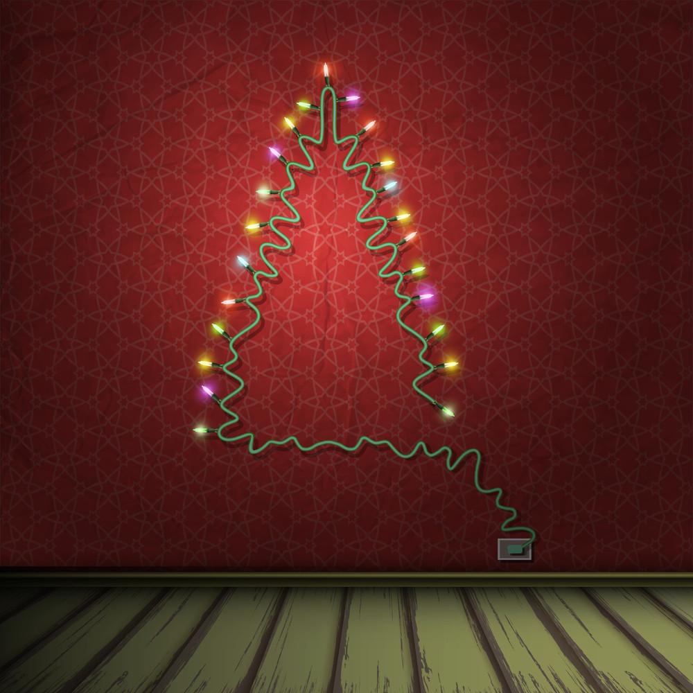 Christmas Tree Lights Modern