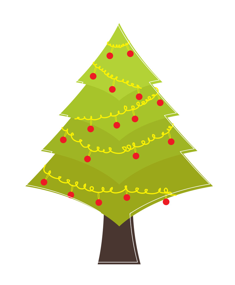 Christmas Tree Shape Design
