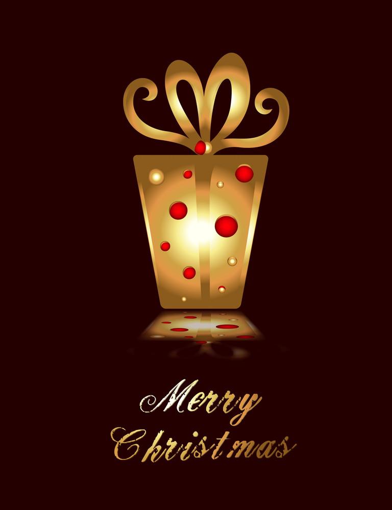 Christmas Vector Illustration Background