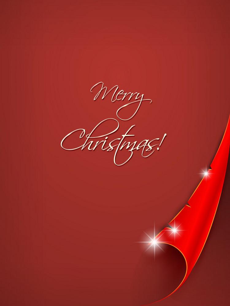 Christmas Vector Illustration Sticker