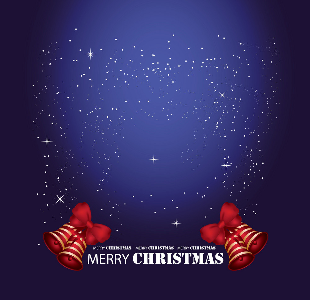 Christmass Background With Tons Of Copy Space