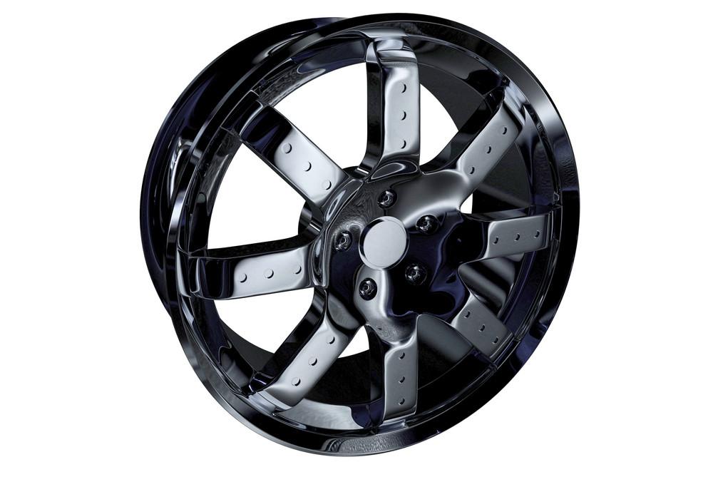 Chrome Alloy Wheel