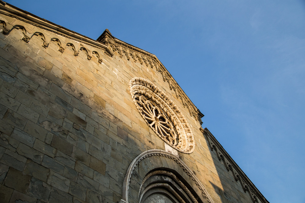 Church of Manarola, Liguria, Italy