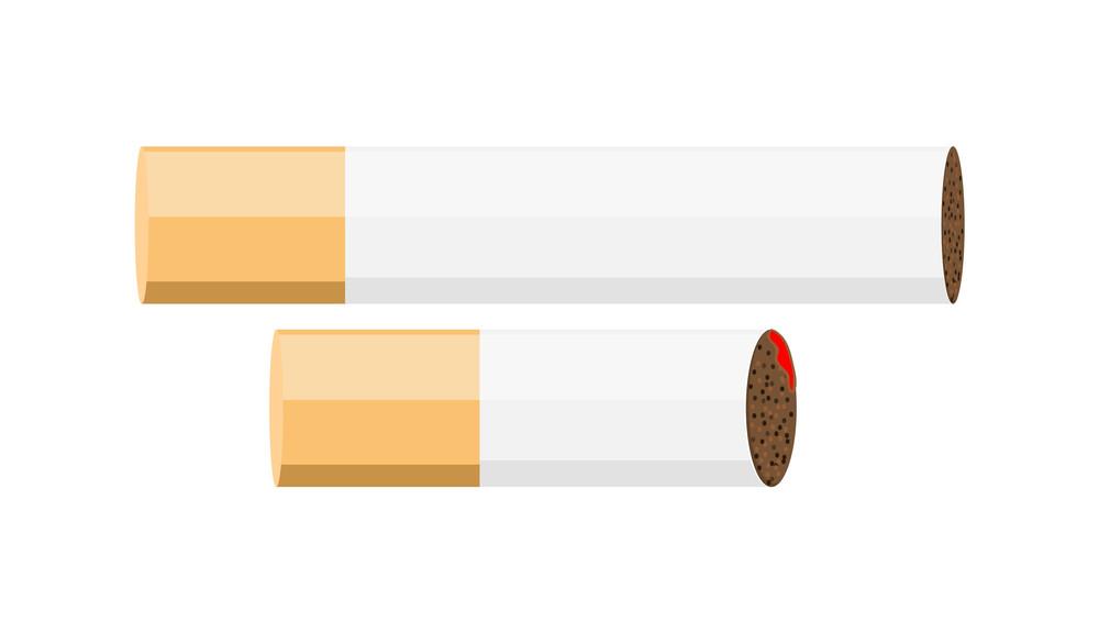 Cigarettes Vector Illustration