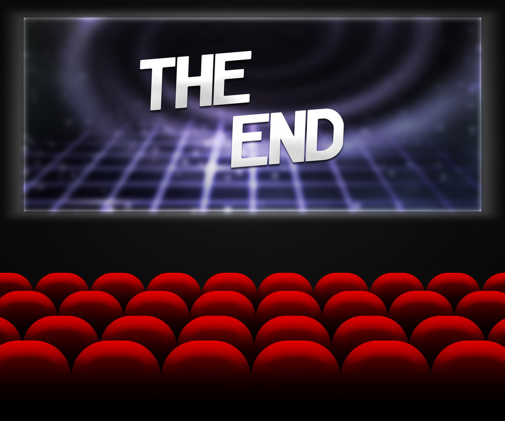 Cinema The End Background
