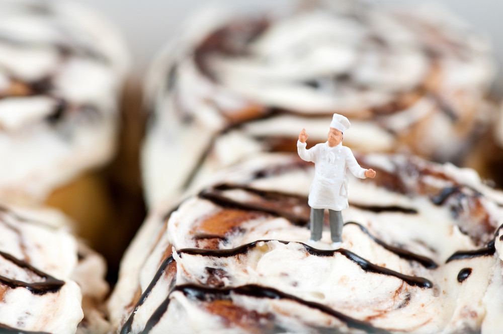 Cinnamon Roll Chef