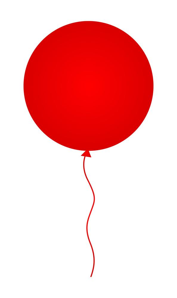 Circular Party Balloon