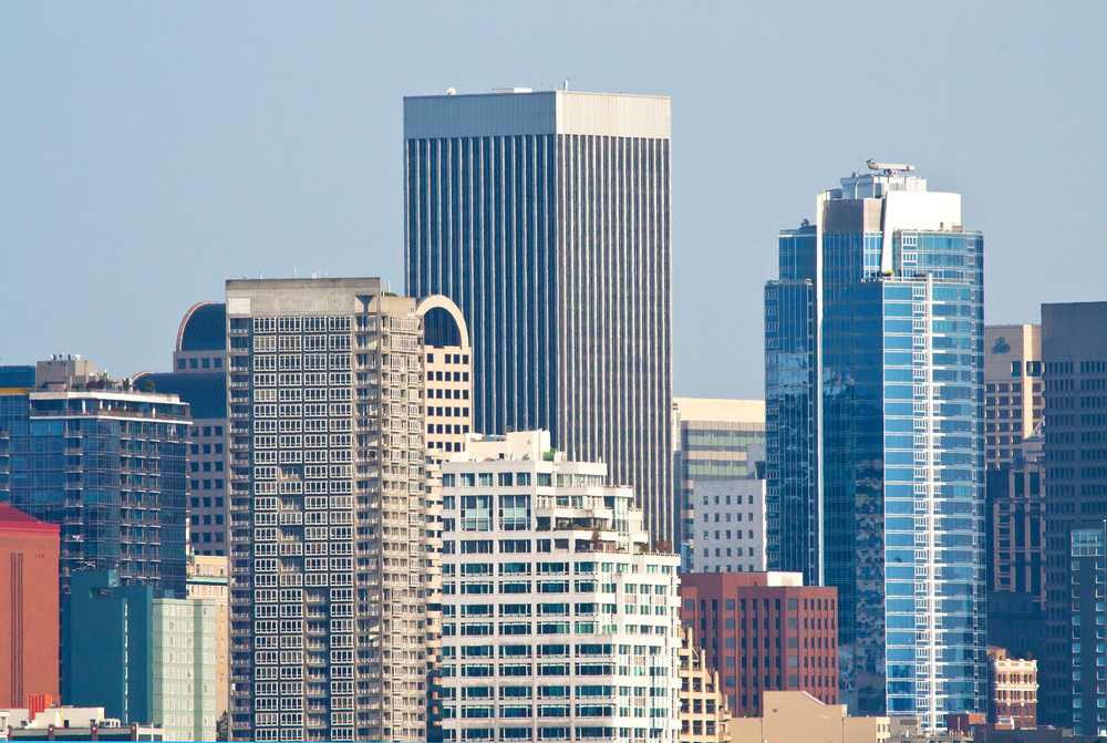 City Of Seattle Skyline