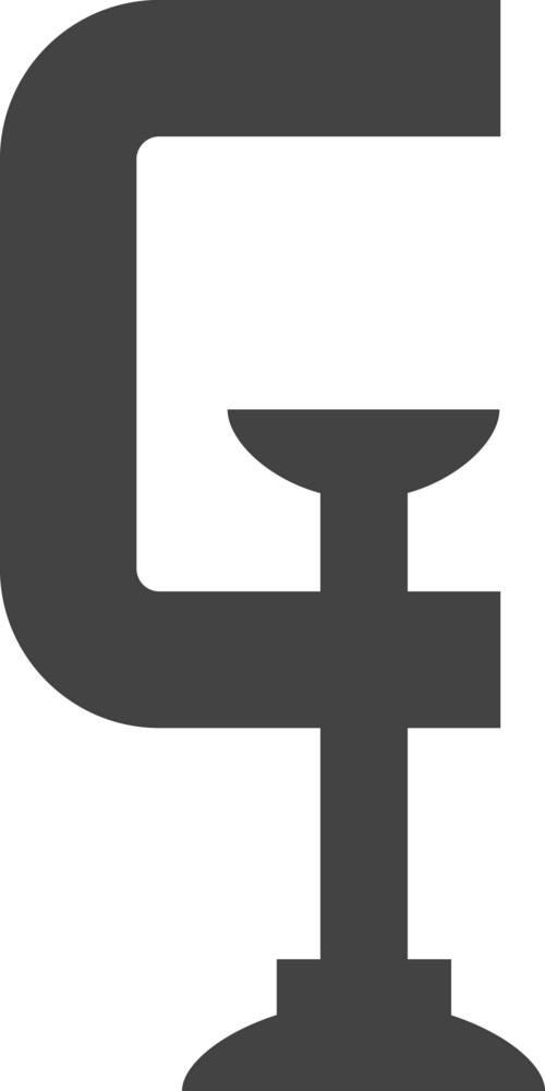 Clamp Glyph Icon