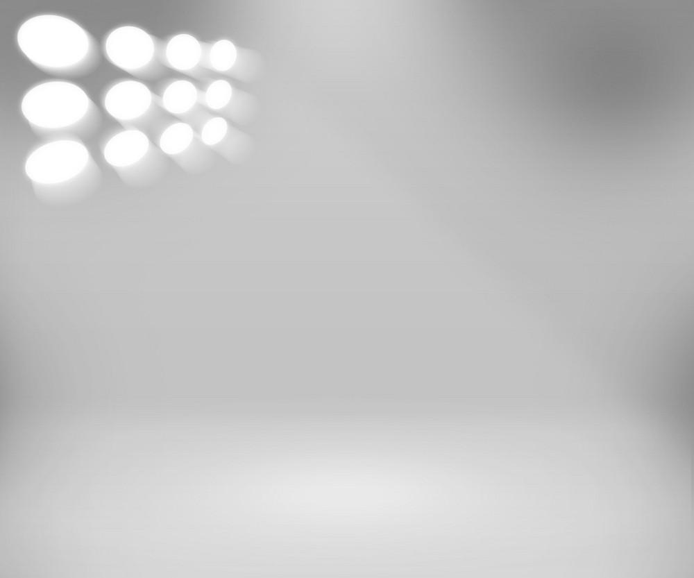 Clean Spotlight White Room Background