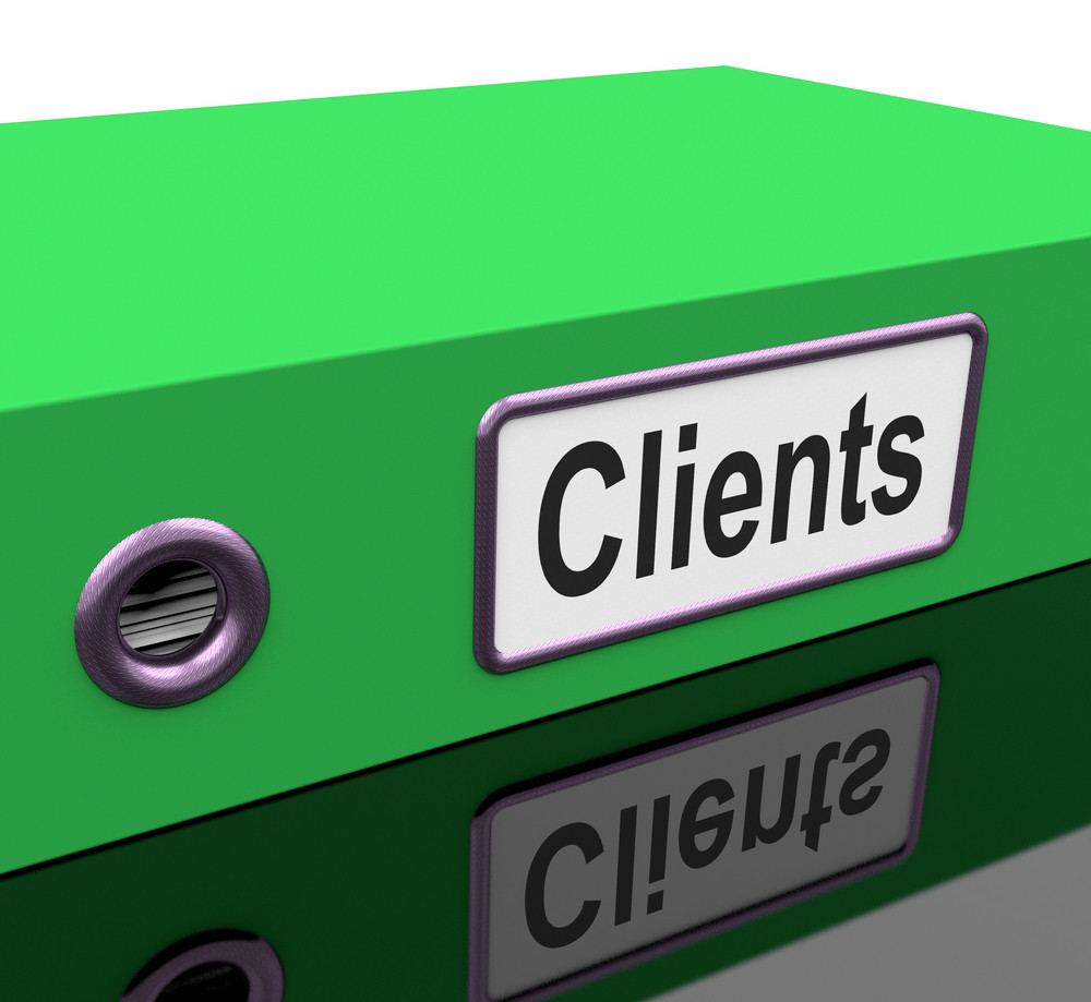 Clients File Containing Customer Buying Records