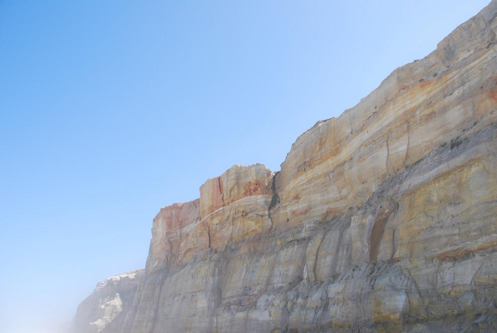 Cliff At Praia Del Rey