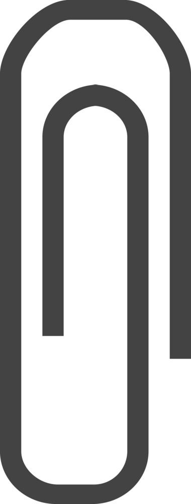 Clip Glyph Icon