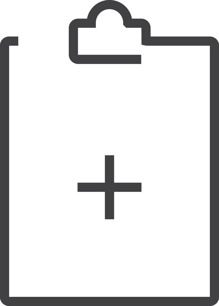 Clipboard 3 Minimal Icon