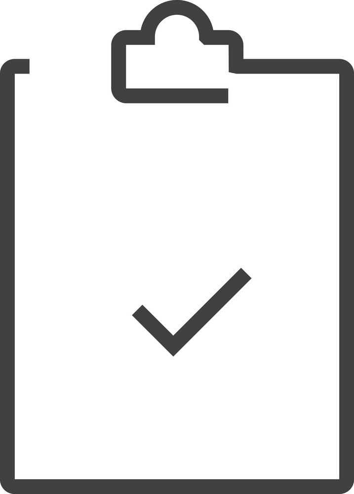 Clipboard 4 Minimal Icon