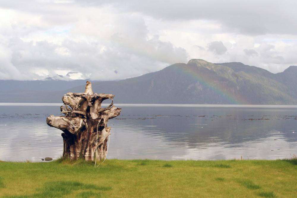 Clog And Rainbow