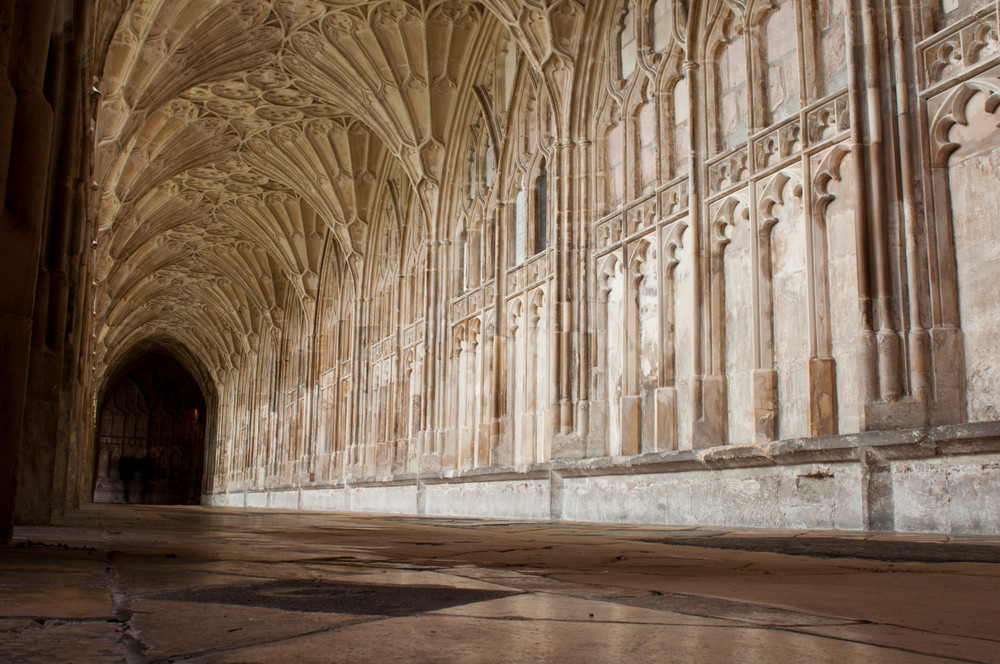 Cloister In Gloucester Cathedral