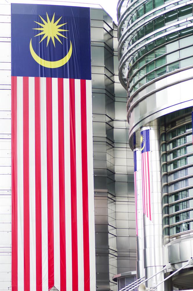 Close up building petronas Malaysia