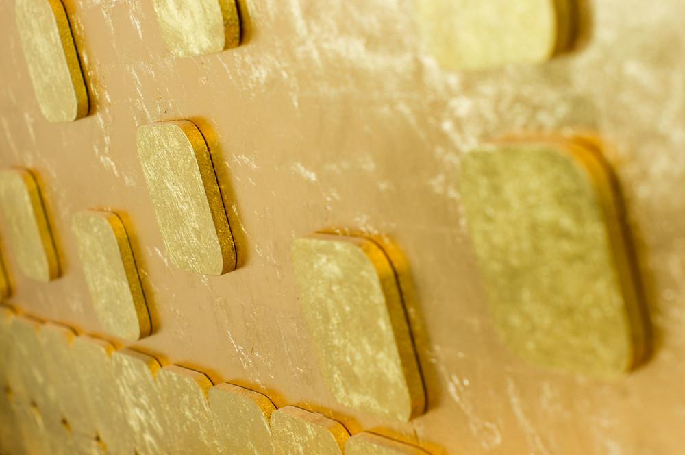 close-up golden background