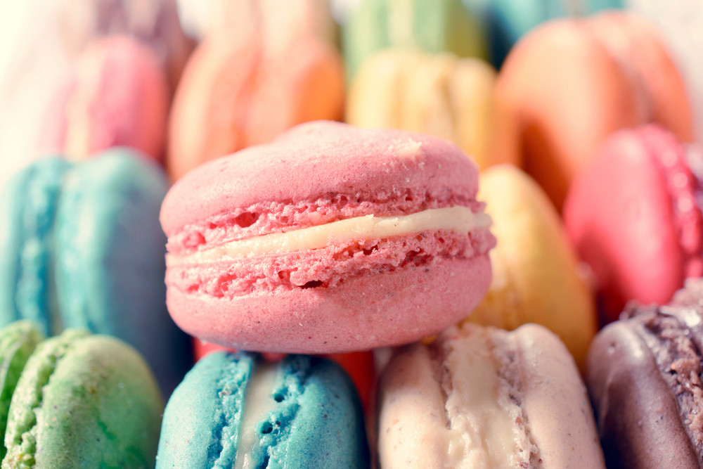 Close Up To Macaroon