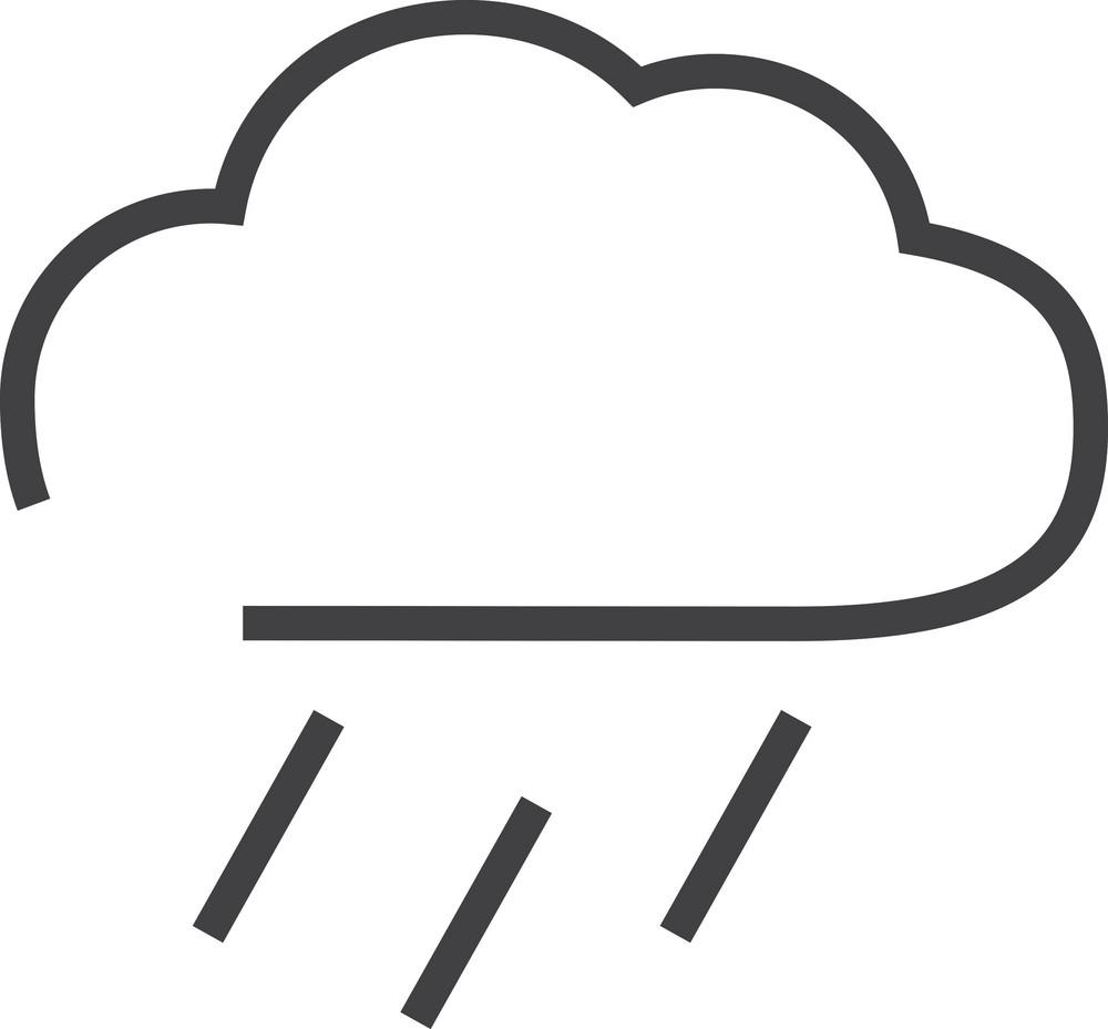 Cloud 4 Minimal Icon