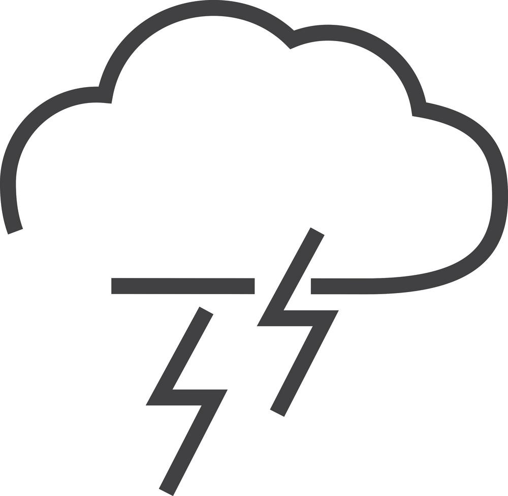 Cloud 8 Minimal Icon
