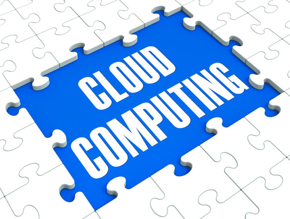 Cloud Computing Puzzle Shows Online Services