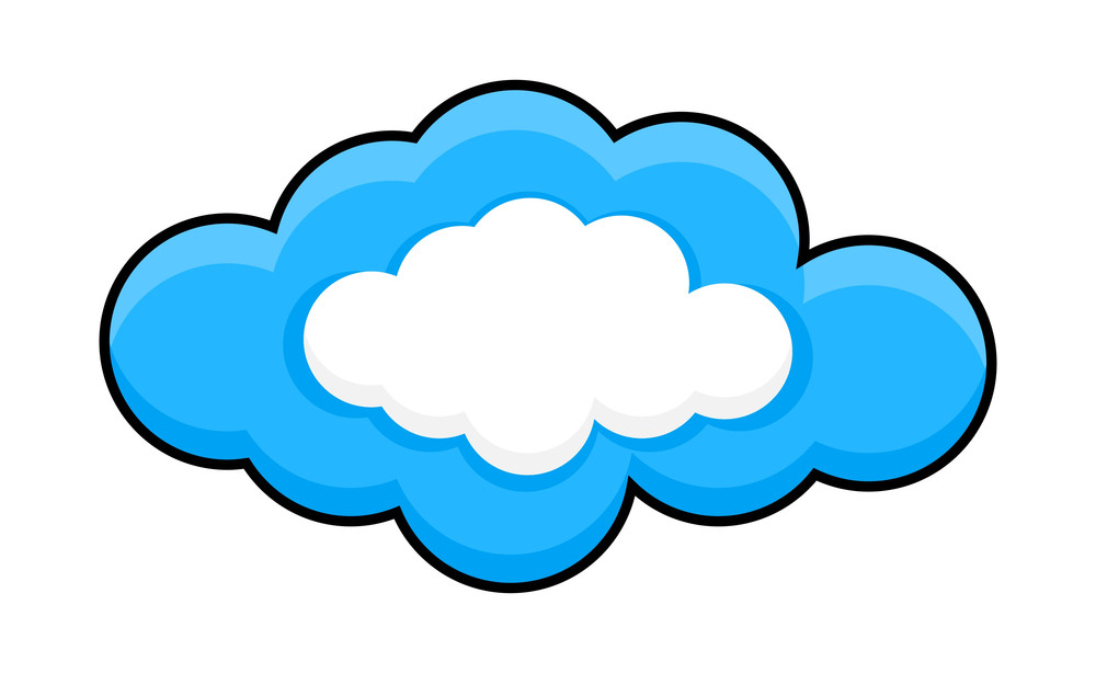 Cloud Frame Royalty-Free Stock Image - Storyblocks