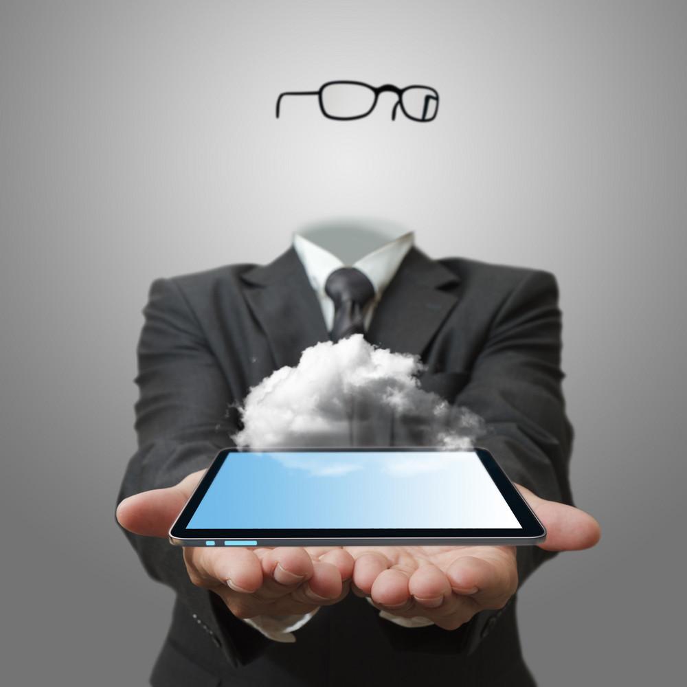 Cloud Network Server Concept